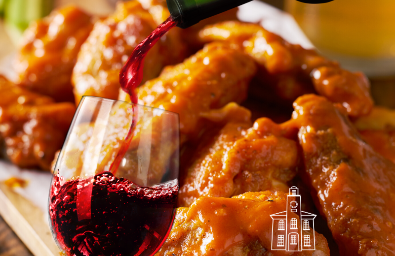 wings and wine delivery